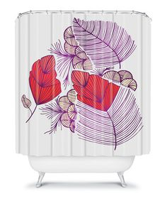 Take a look at this Sea Leaves Shower Curtain by DENY Designs on #zulily today!