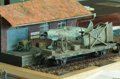 Model Trains Ho Scale, Model Train Layouts, Scale Models, Railway Gun, Military Action Figures, Rail Transport, Scale Art, Rail Car, Ho Trains