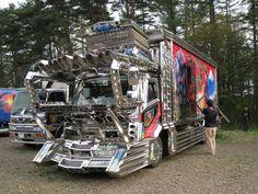 japanese art trucks