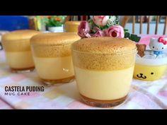 Resep Cake, Puddings, Panna Cotta, Mugs, Ethnic Recipes, Desserts, Youtube, Food, Tailgate Desserts