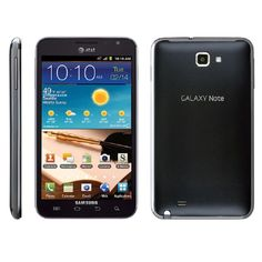 Samsung Galaxy Note I717 16GB Unlocked GSM 4G LTE Certified Refurbished Cell Phone -Carbon #I717 CRB