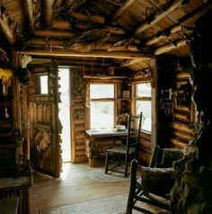 Tiny home rustic cabin.
