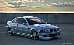 BMW E46 M3 slammed
