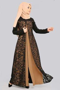 Clothes for Sale in Dearborn Heights, MI - OfferUp Iranian Women Fashion, Islamic Fashion, Muslim Fashion, Modern Hijab Fashion, Abaya Fashion, Fashion Dresses, Hijab Evening Dress, Hijab Style Tutorial, Batik Dress