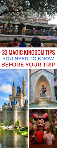 So many great Magic Kingdom tips here - definite read before your trip!