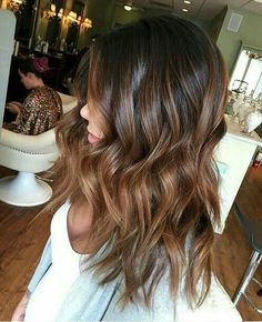 Balayage Brown to Caramell • Pinterest FernandaAlvz