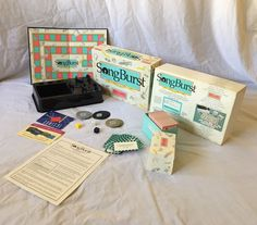 Hersch© Vintage 1990 SONGBURST the 50's and 60's Edition  Game Complete!  | eBay