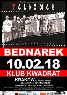 Galeria zdjęć z koncertu Kamila Bednarka w Krakowie -> http://www.heavymetalandmore.pl/2018/02/bednarek-w-krakowie-galeria.html