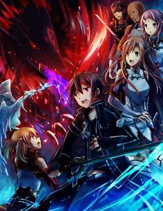 Sword Art Online - It is quite hard to describe this series as it works on so many levels. You can enjoy the basic adventure or you can let yourself be swept away by the development of the main characters and the struggle they go through to get what they want.