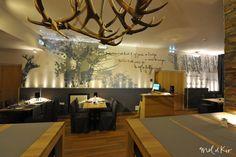décoration murale restaurant hôtel Le Grand Aigle**** Serre Chevalier by Mel et Kio