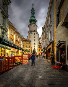Street in the old city by Sorin Markus on 500px