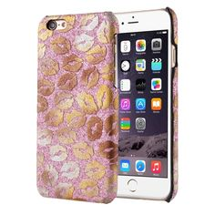 [$1.40] Sexy Lip Print Patterns Hard Back Cover Protective Back Case for iPhone 6 Plus & 6s Plus(Pink)