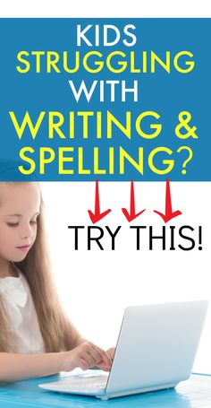 Help with writing kids and spelling lesson ideas. #homeschool #homeschooling #writingforkids #spelling #onlinelearning