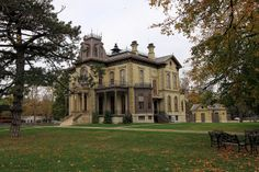 Italianate Home in IL, photo by Black Doll