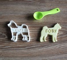 Shiba Inu Cookie Cutter Custom treat Personalized Dog Breed puppy Treat Cutter by CookieCuttersFactory on Etsy