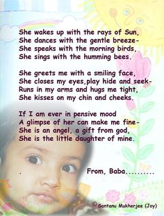 Poem For My Daughter
