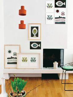 Wandgestaltung mit Fotos