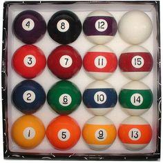 Deluxe Billiard Pool Balls Set