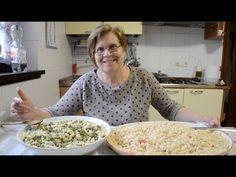 PASTA E FAGIOLI (CICATID FATTI IN CASA) - RICETTE DELLA NONNA MARIA - YouTube Pasta E Fagioli, Pasta Recipes, Diet Recipes, Peasant Food, Italian Cooking, Food Videos, Meals, Vegetables, Chef