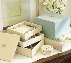McKenna Leather Bento Box #potterybarn