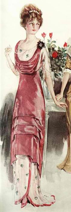 1912 evening gown