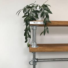 Beautifully restored industrial style clothing rail, made from reclaimed scaffolding boards. All rails come with an end hook for holding bags, belts and other items and also height adjustable feet for stability. Please message me for a quote for specific sizes. Lead times are around