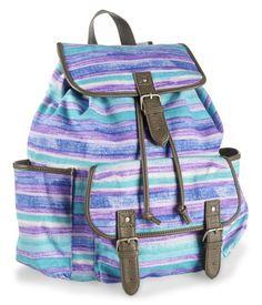 Beachy Stripes Backpack - Aeropostale I want! ♥
