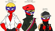 Read 🤠imágenes 🤠 from the story countryhumans [imágenes Y Comics] by nelkichan (bbzuela) with reads. Hetalia, Splatoon Comics, Funny Spanish Memes, Mundo Comic, Country Men, Cartoon Art Styles, Bullet Journal Ideas Pages, Best Memes, Kawaii Anime