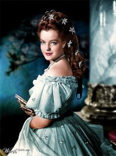 romy schneider' sissi' blue' color by for Pleasantville on (R) Hollywood Glamour, Classic Hollywood, Old Hollywood, Princesa Sissi, Sissi Film, Empress Sissi, Stars D'hollywood, Actrices Hollywood, Elisabeth