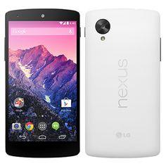 """Smartphone Nexus 5 Branco, Tela 5"""", 4G+WiFi, Android 4.4, Câmera 8MP, Processador Quad Core 2.2Ghz, Memória Interna 16GB - LG"""