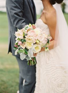 Coastal Maine Outdoor Wedding