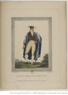 Costume of the various orders in the University of Cambridge   1805