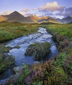 Sligachan, Isle of Skye, Scotland :: oh, those colours!