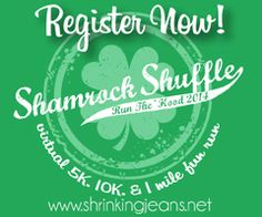 Shamrock Shuffle Run the 'Hood Virtual 5K/10K Walk and Run