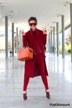 Образ в любимом пальто