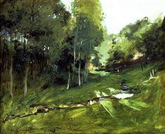 John Singer Sargent - 1880 Wooded Landscape