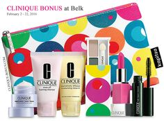 New Clinique bonus: spend $27 on Clinique at Belk online or instore and choose Pink or Peach look of your 7-piece gift. http://clinique-bonus.com/belk/