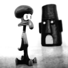 Calamardo tentáculos, personaje de bob esponja. :D :D