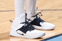 8495ef232 The sneakers of Joakim Noah of the Memphis Grizzlies are worn prior to a  game against