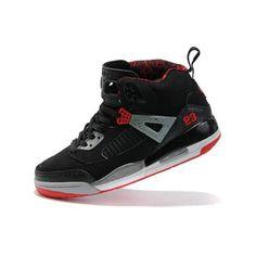 Air Jordan 35 Cement Mid Black Red Grey
