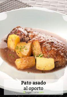 Receta de Pato asado al oporto Pot Roast, French Toast, Treats, Breakfast, Ethnic Recipes, Food, Breast, Salads, Food Recipes