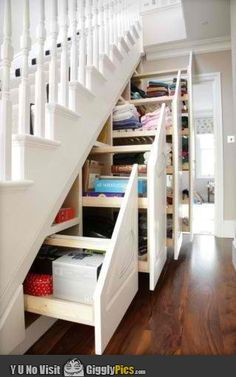 I will have a staircase something along these lines!