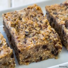 No-Bake Workout Bars