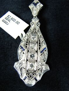 US $2,889.00 Pre-owned in Jewelry & Watches, Fine Jewelry, Fine Necklaces & Pendants