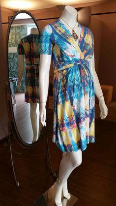 vestido wrap estampado = cool look alto verão '15