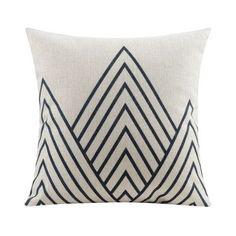 Geometric Home Decor Pillow Cushion Linen Cotton Coconut Trees Decorative Throw Pillows