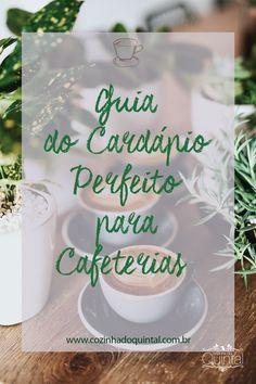 Guia do Cardápio Perfeito para Cafeterias Cookies, Birthday, Desserts, Food, Homemade Business, Coffeemaker, Beverages, Diet, Crack Crackers
