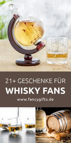 21 gifts for whiskey fans- 21 Geschenke für Whisky Fans Looking for an original whiskey gift? With these whiskey gift ideas youre guaranteed to be right! Diy Gifts For Girls, Diy For Men, Whiskey And You, Good Whiskey, Valentines Surprise For Him, Valentine Day Gifts, Whiskey Gifts, Whiskey Drinks, Diy Gifts For Christmas
