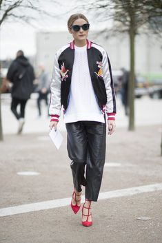 London Fashion Week Street Style Februar 2016 | POPSUGAR Deutschland Mode