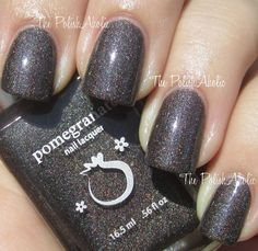 Pomegranate Nail Lacquer Cyberspace (from: The PolishAholic)